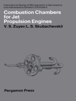 Combustion Chambers for Jet Propulsion Engines: International Series of Monographs in Aeronautics and Astronautics