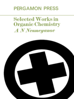 Selected Works in Organic Chemistry