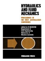 Hydraulics and Fluid Mechanics