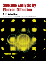 Structure Analysis by Electron Diffraction