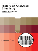 History of Analytical Chemistry