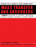 Mass Transfer and Absorbers: International Series of Monographs in Chemical Engineering
