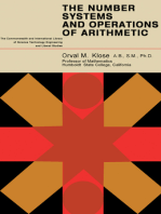 The Number Systems and Operations of Arithmetic