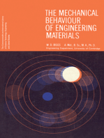 The Mechanical Behaviour of Engineering Materials