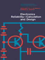 Electronics Reliability–Calculation and Design