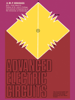 Advanced Electric Circuits: The Commonwealth and International Library: Applied Electricity and Electronics Division