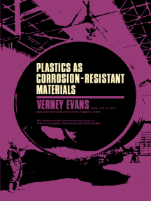 Plastics as Corrosion-Resistant Materials: The Commonwealth and International Library: Plastics Division