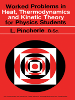 Worked Problems in Heat, Thermodynamics and Kinetic Theory for Physics Students: The Commonwealth and International Library: Physics Division