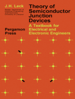 Theory of Semiconductor Junction Devices