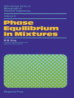 Phase Equilibrium in Mixtures: International Series of Monographs in Chemical Engineering