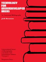 Technology for Underdeveloped Areas: An Annotated Bibliography