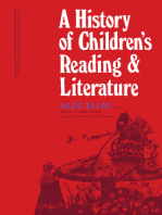 A History of Children's Reading and Literature