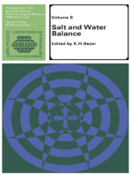 Salt and Water Balance: Proceedings of the Third International Pharmacological Meeting July 24–30, 1966