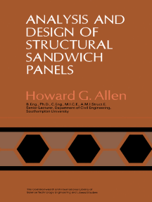 Analysis and Design of Structural Sandwich Panels: The Commonwealth and International Library: Structures and Solid Body Mechanics Division