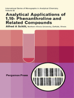 Analytical Applications of 1,10-Phenanthroline and Related Compounds