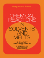 Chemical Reactions in Solvents and Melts