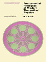 Fundamental Principles of Modern Theoretical Physics