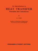 An Introduction to Heat Transfer Principles and Calculations: International Series of Monographs in Heating, Ventilation and Refrigeration