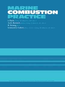 Marine Combustion Practice: The Commonwealth and International Library: Marine Engineering Division