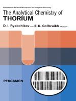The Analytical Chemistry of Thorium