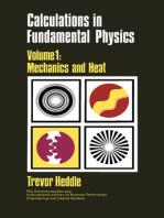 Calculations in Fundamental Physics: Mechanics and Heat