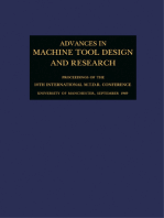 Advances in Machine Tool Design and Research 1969: Proceedings of the 10th International M.T.D.R. Conference, University of Manchester Institute of Science and Technology, September 1969
