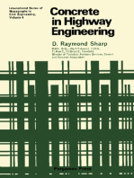 Concrete in Highway Engineering: International Series of Monographs in Civil Engineering