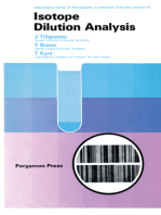 Isotope Dilution Analysis