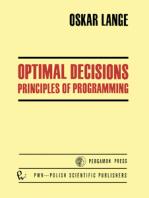Optimal Decisions