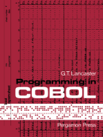 Programming in COBOL