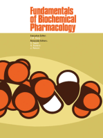 Fundamentals of Biochemical Pharmacology