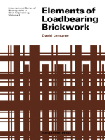 Elements of Loadbearing Brickwork