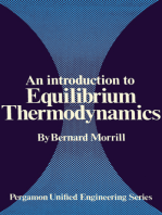 An Introduction to Equilibrium Thermodynamics