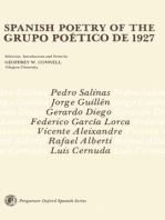 Spanish Poetry of the Grupo Poético de 1927: Pergamon Oxford Spanish Series