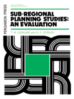 Sub-Regional Planning Studies