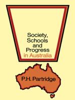 Society, Schools and Progress in Australia