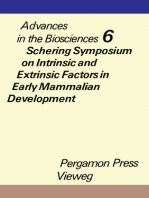 Schering Symposium on Intrinsic and Extrinsic Factors in Early Mammalian Development, Venice, April 20 to 23, 1970