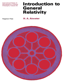 Introduction to General Relativity: International Series of Monographs in Natural Philosophy