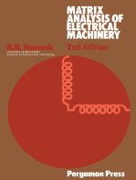 Matrix Analysis of Electrical Machinery