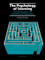 The Psychology of Learning: An Introduction for Students of Education