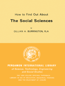 How to Find Out About the Social Sciences: Library and Technical Information