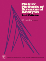 Matrix Methods of Structural Analysis: Pergamon International Library of Science, Technology, Engineering and Social Studies