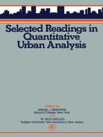 Selected Readings in Quantitative Urban Analysis
