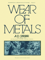 Wear of Metals: International Series in Materials Science and Technology