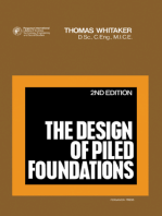 The Design of Piled Foundations