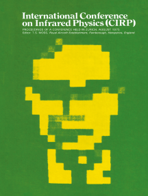 International Conference on Infrared Physics (CIRP): Proceedings of a Conference Held in Zurich, 11–15 August 1975