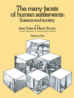 The Many Facets of Human Settlements