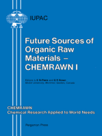Future Sources of Organic Raw Materials