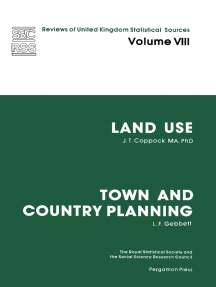 Land Use and Town and Country Planning: Reviews of United Kingdom Statistical Sources
