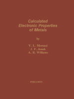 Calculated Electronic Properties of Metals